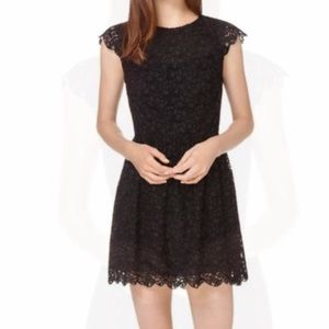 Talula Aritzia Black Lace Dress